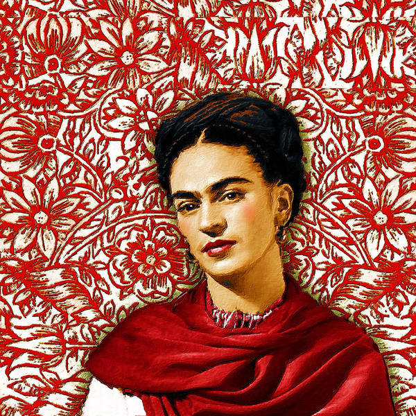 Painting - Frida Kahlo 2 by Tony Rubino