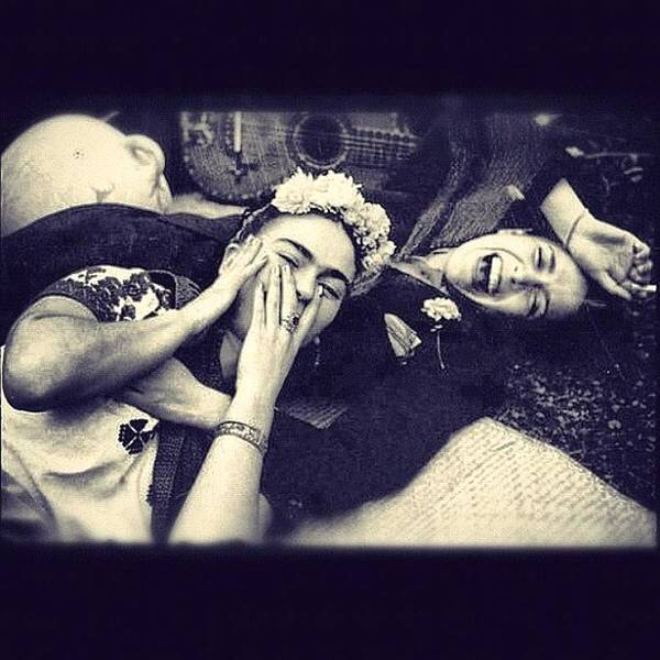 Awesome Photograph - Frida Kahlo/chavela Vargas by Fernando Lara