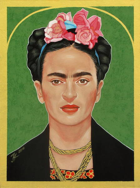 Painting - Frida Kahlo by Jovana Kolic