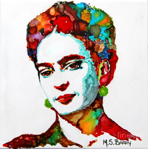 Painting - Frida Kahlo by Maria Barry
