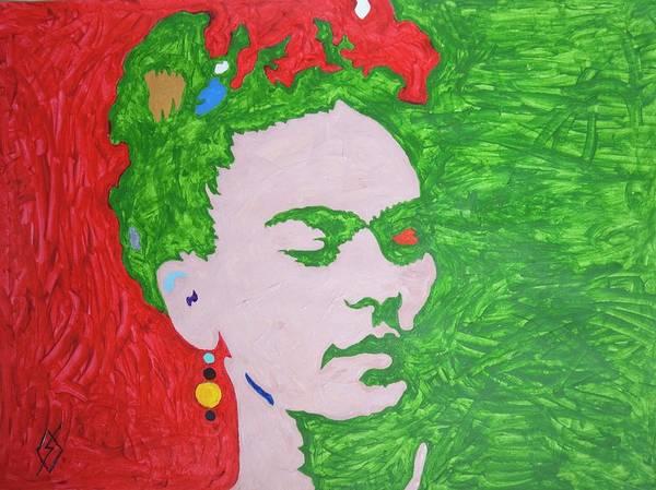 Wall Art - Painting - Frida Kahlo by Stormm Bradshaw