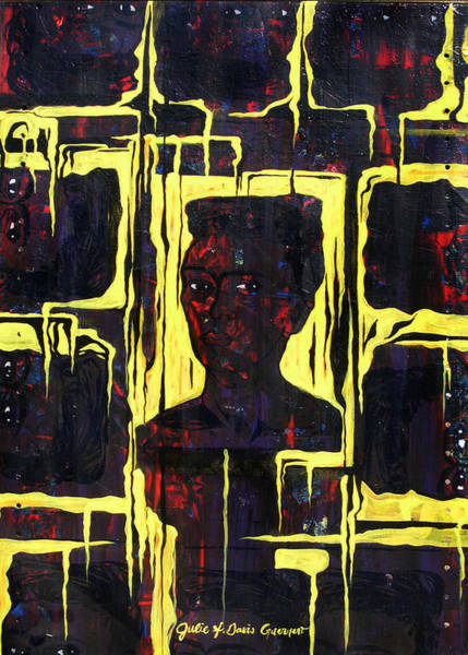 Painting - Frida - La Luz by Julie Davis Veach
