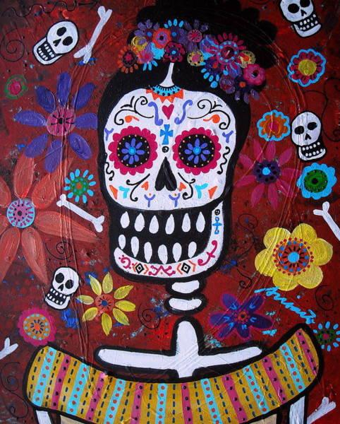 Harana Wall Art - Painting - Frida by Pristine Cartera Turkus
