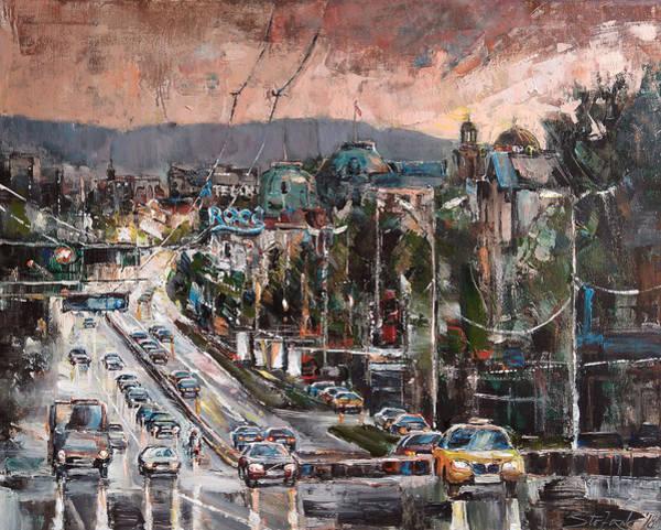 Painting - Friday Eveneing by Stefano Popovski