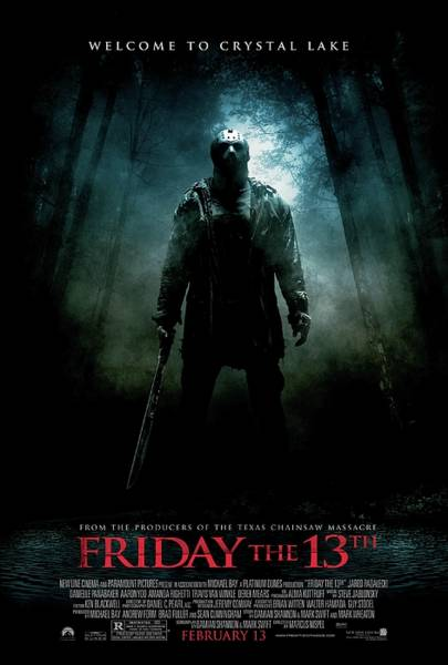Wall Art - Digital Art - Friday The 13th 2009 Film by Geek N Rock