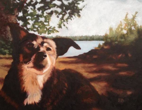 Comission Painting - Frieda by Bonnie Behan
