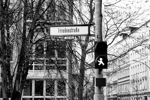Photograph - Friedenstrasse  by John Rizzuto