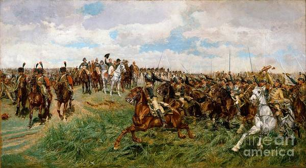 Lyons Wall Art - Painting - Friedland by Ernest Meissonier