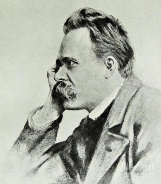 Intelligent Photograph - Friedrich Nietzsche, 1912 by German School