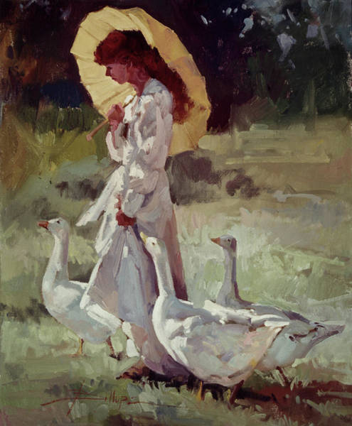 Friendly Flock Art Print