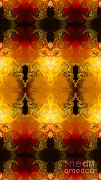 Digital Art - Friendly Foundations Abstract Organic Bliss Art By Omaste Witkow by Omaste Witkowski