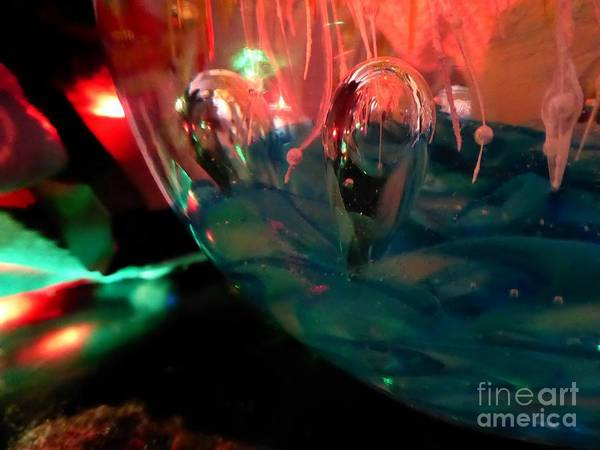 Christmass Photograph - Friendly Photons by Christopher Wilson