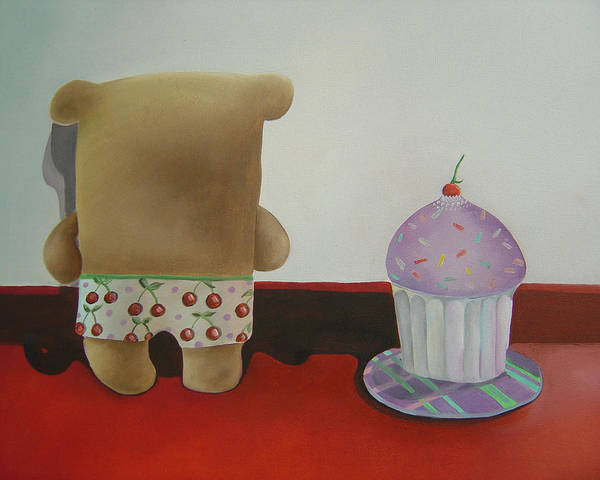 Wall Art - Painting - Friends 2 by Anastassia Neislotova