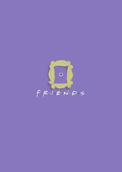 Phoebe Digital Art - Friends by Dannii Griffiths