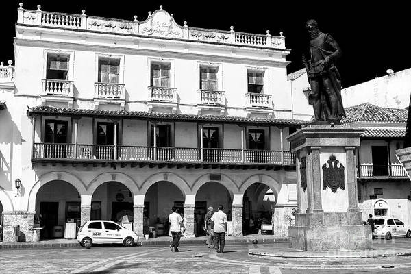 Photograph - Friends In The Plaza De Los Coches by John Rizzuto