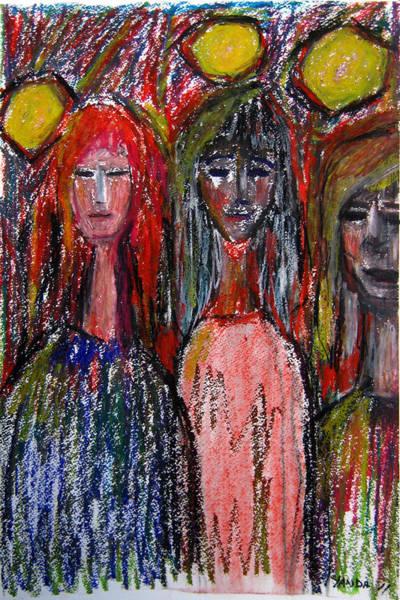 Pastel - Friends by Katt Yanda