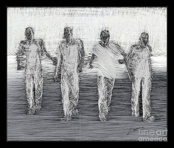 Digital Art - Friends by Lance Sheridan-Peel