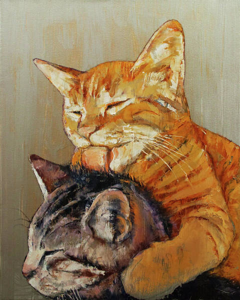 Wall Art - Painting - Friends by Michael Creese