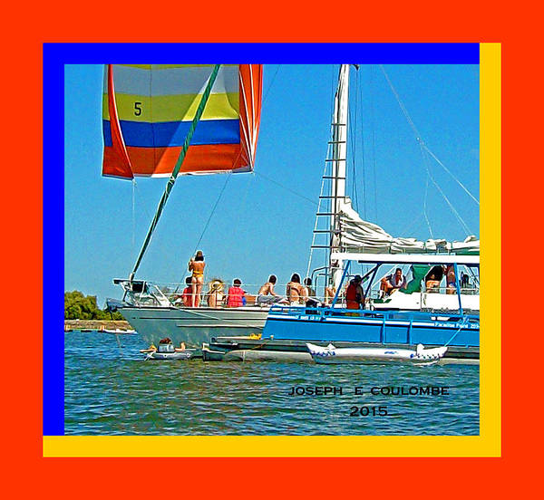 Photograph - Friends N Sails by Joseph Coulombe