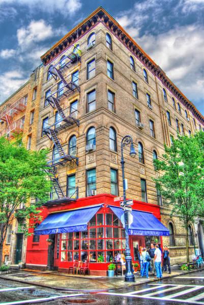 Wall Art - Photograph - Friends Television Show Apartment Building by Randy Aveille