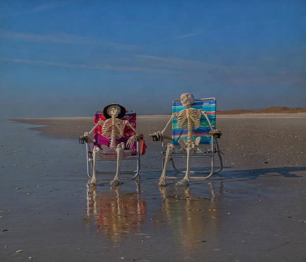 Grateful Dead Photograph - Friends Till The End by Betsy Knapp