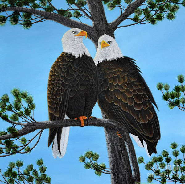 Painting - Friends by Tracey Goodwin