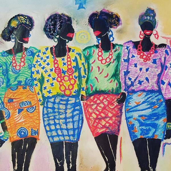 Pastel - Friendship And Love by Adekunle Ogunade