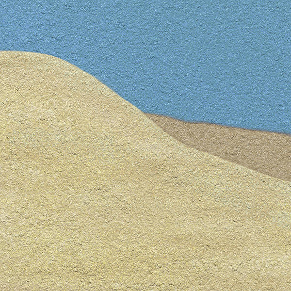 Dune Mixed Media - Friendship Cove by Di Designs
