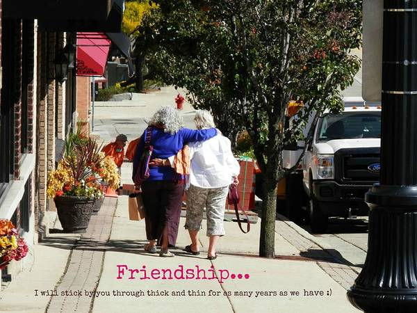 Photograph - Friendship by Deborah Kunesh