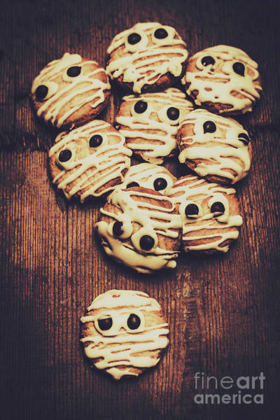 Dessert Photograph - Fright Night Party Baking by Jorgo Photography - Wall Art Gallery