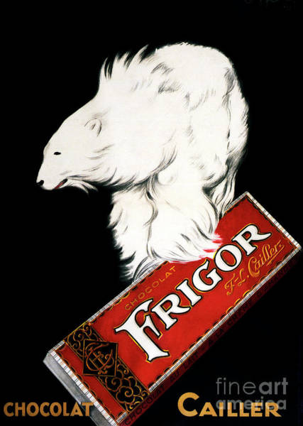 Wall Art - Painting - Frigor Chocolate Poster By Leonetto Cappiello, 1929  by Leonetto Cappiello