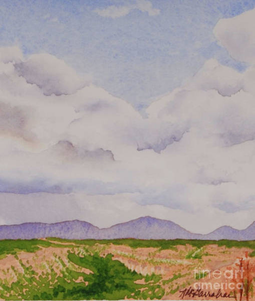 Wall Art - Painting - Frijoles Canyon, New Mexico by Annette McGarrahan
