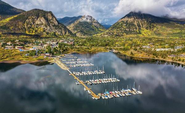 Photograph - Frisco Marina by Rand