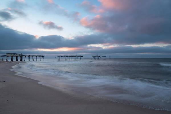 Photograph - Frisco Pier Sunrise by Richard Sandford