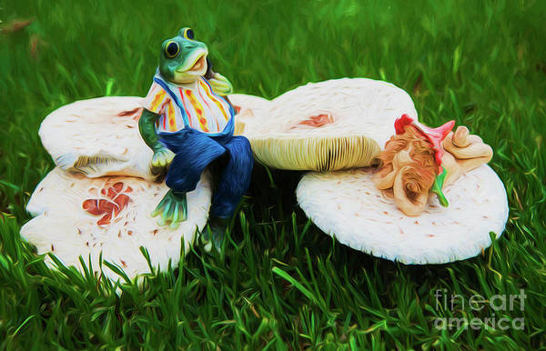 Wall Art - Photograph - Froggy And Friend by Sheila Smart Fine Art Photography