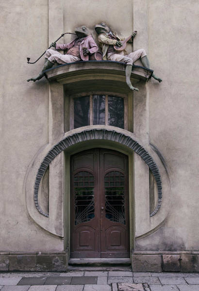 Wall Art - Photograph - Frogs  by Jaroslaw Blaminsky