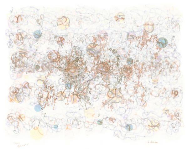 Painting - Frolic In Tortuosity by Regina Valluzzi