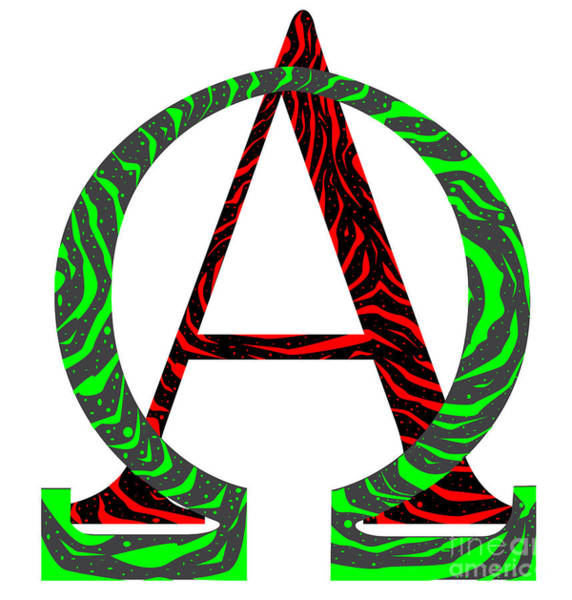 A To Z Digital Art - From A  To Z by Bigalbaloo Stock