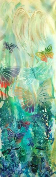 Painting - From Butterfly Whispers To Angel Wings by Pam Halliburton