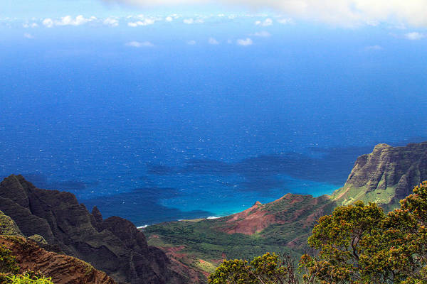 Photograph - From Kalalau Valley To The Sky by Bonnie Follett