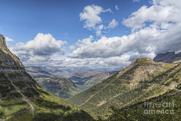 Photograph - From Logan Pass 2 by Jemmy Archer