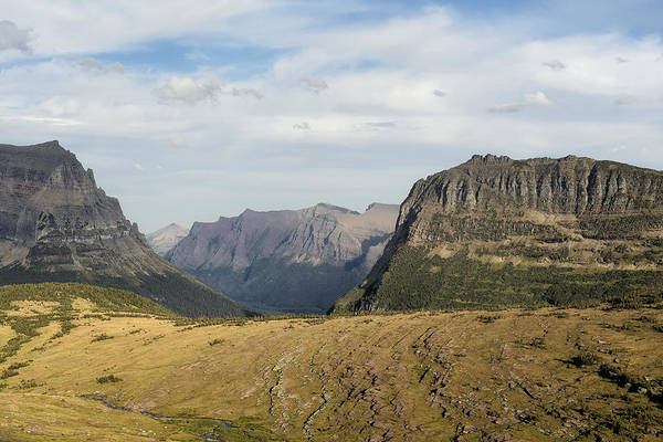 Photograph - From Logan's Pass - Glacier Np by Belinda Greb