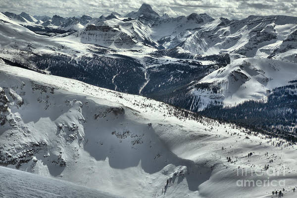 Photograph - From Lookout Mountain To Mt. Assiniboine by Adam Jewell