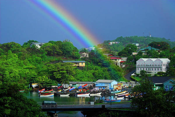 Wall Art - Photograph - From My Balcony- St Lucia  by Chester Williams