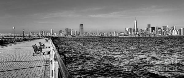 Lower Manhattan Photograph - From New Jersey by Olivier Le Queinec
