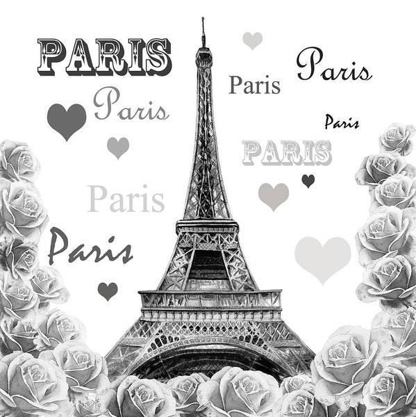 Painting - From Paris With Love by Irina Sztukowski
