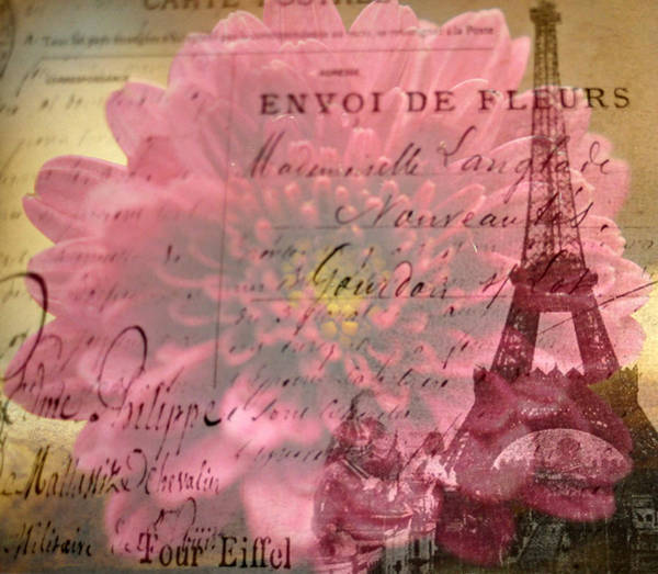 Wall Art - Photograph - From Paris With Love by Kathy Bucari