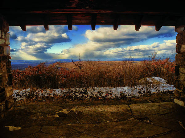 Photograph - From Sunrise Mountain In Nj On At by Raymond Salani III