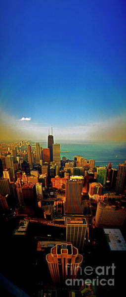Photograph - Chicago Skyline Looking North Gold Coast by Tom Jelen