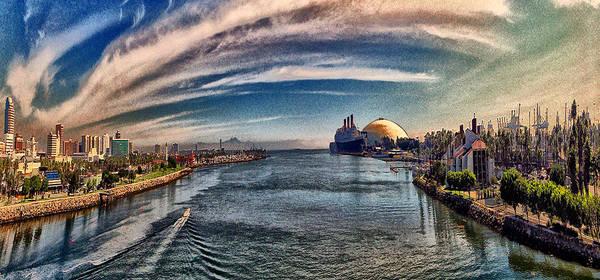 Digital Art - From The Bridge by Bob Winberry
